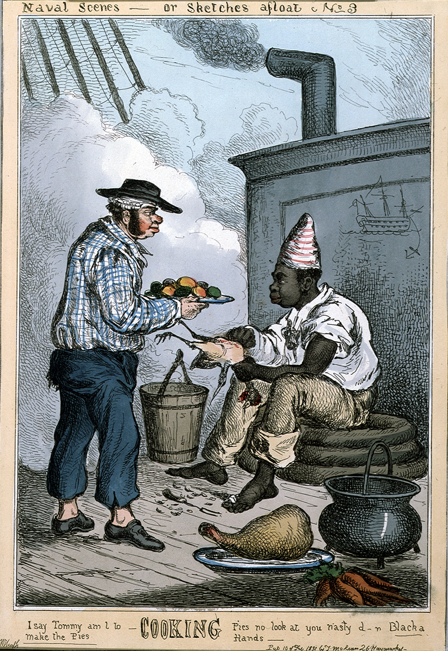 Naval scenes steward and cook copy for 18th century cuisine